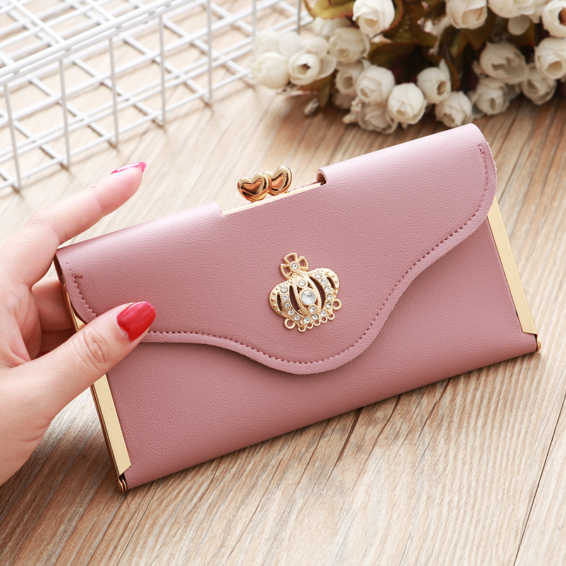 2020 Fashion Women Wallets cartera mujer High Quality Leather Women's Purse Lady Party Clutch Female Card Holder portfel damski