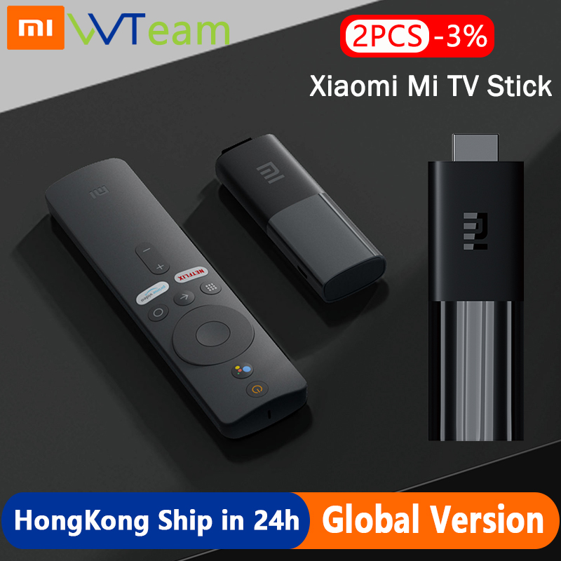 Global Version Xiaomi TV Stick Android 9 0 HDMI Streaming Media player 1GB RAM 8GB ROM Bluetooth Wifi Netflix Google Assistant