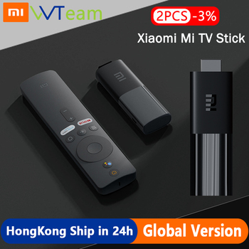 Global Version Xiaomi TV Stick Android 9.0 HDMI Streaming Media player 1GB RAM 8GB ROM Bluetooth Wifi Netflix Google Assistant