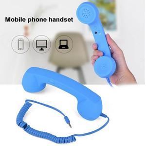 3,5 мм Радиационная телефонная трубка, наушники, телефон, классический приемник с микрофоном, портативная телефонная гарнитура для компьюте...