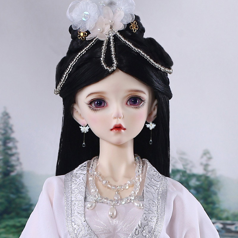 New arrival Chinese style BJD SD 1/3 AS Xiao Xue 58cm Free Eye Balls Fashion Shop Ball Joint Doll Gift