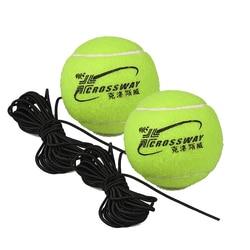 2 pces profissional tênis formação parceiro rebote prática bola com 3.8m elástico corda bola de borracha para iniciante