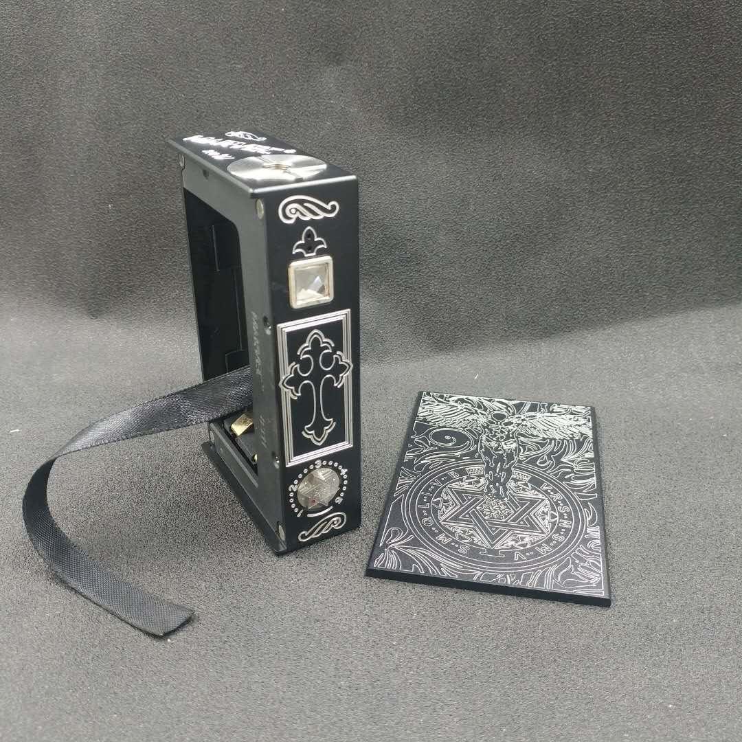 New Marvec Guardian Angel box mod voltage regulation vape box aluminum alloy 18650 battery 510 thread suitable for RDA RTA RDTA