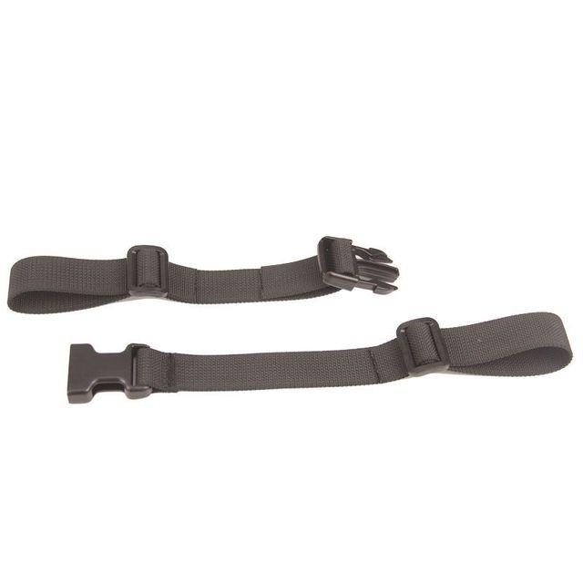 LIANQI Outdoor Backpack Chest Strap Fixing Strap Slip-Off Prevention Strap Backpack Belt Shoulder Strap Adjustable Black
