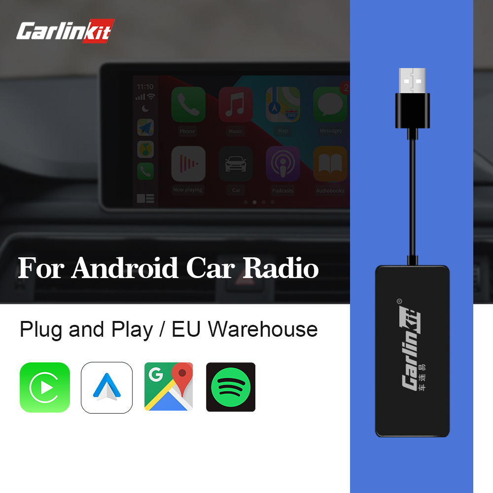 Duokon Adaptateur Carplay 100/% tout nouveau Dongle de lecture automatique USB lecteur de Navigation st/ér/éo de voiture Dongle USB Carplay Noir