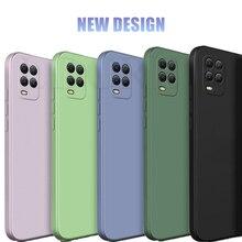 For Xiaomi Mi 10 Lite Case Magic Square Silicone Anti-slip Original Case For Xiaomi Mi 10T 5G Case Cover For Xiaomi Mi 10T Pro