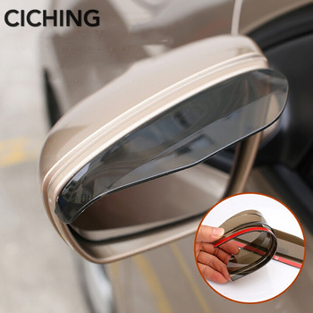 Car Accessories Rearview Mirror Rain Shade FOR fiat punto h4 c4 picasso saab 9-5 bmw e34 e39 e90 e38 vw t4 rover 75 opel corsa c image