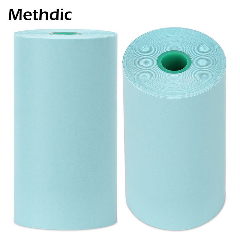 Methdic 57x30mm Color Thermal Roll Paper For Mini Printer Small POS Machine