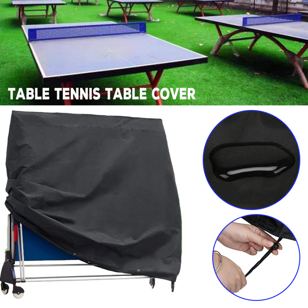 High Quality Ping Pong Table Cover Cover Indoor Outdoor Table Tennis Sheet  Heavy Duty Waterproof PingPong Table Storage Cover