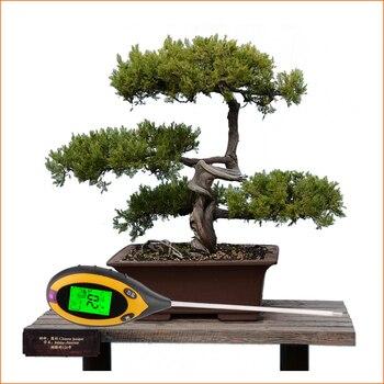 RZ 4 IN 1 Toprak Test Cihazı Nem Dedektörü Dijital Ph ölçer Toprak Nem Monitörü Higrometre Bahçe Tesisi ışık Güneş Işığı Tester