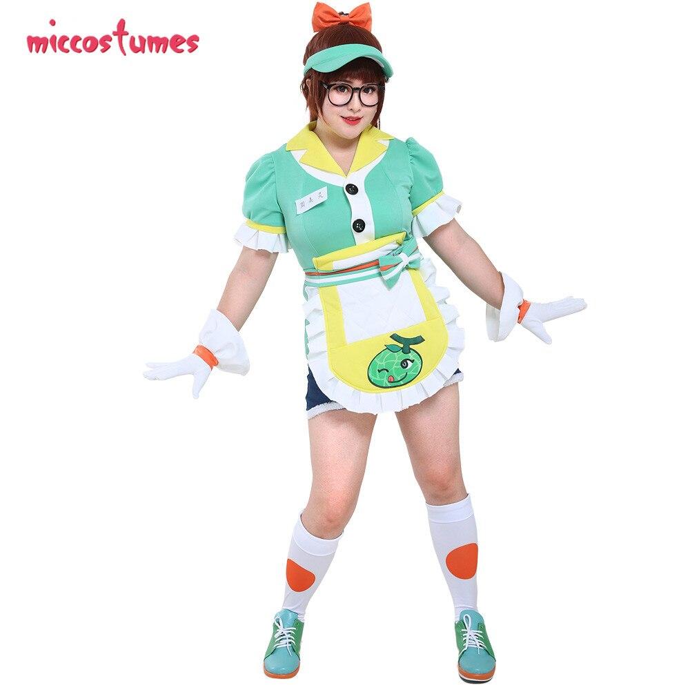 Mei Lin Zhou Costume 2019 Anniversary Honeydew Melon Cosplay