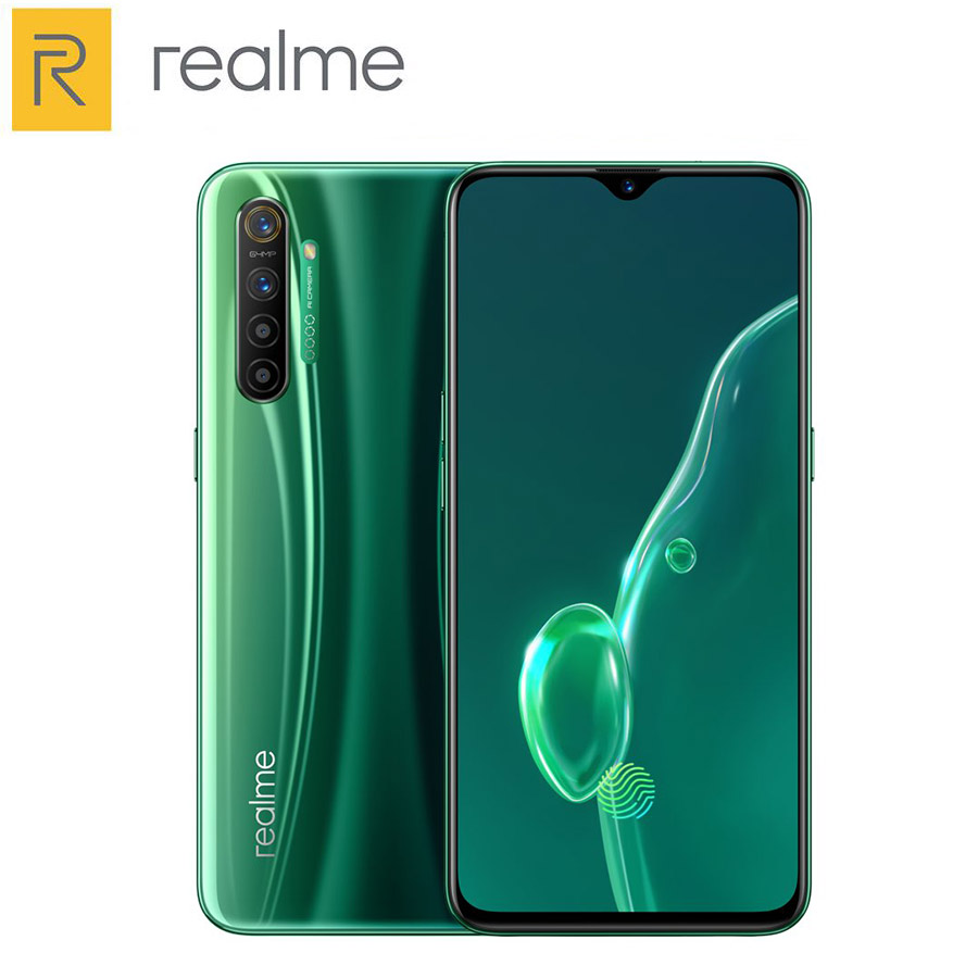 Original Realme X2 Mobile Phone 128GB 256GB  8GB RAM Snapdragon 730G 6.4