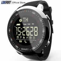 LOKMAT montre intelligente Sport étanche pédomètres Message rappel Bluetooth natation extérieure hommes smartwatch pour ios téléphone Android