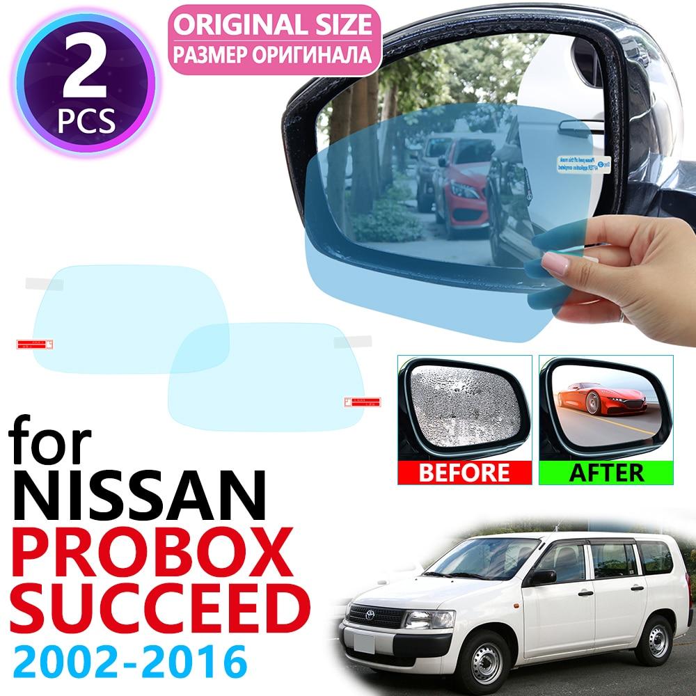 for Toyota Probox Succeed XP50 50 2002~2017 Full Cover Rearview Mirror Anti-Fog Films Rainproof Anti Fog Film Car Accessories(China)