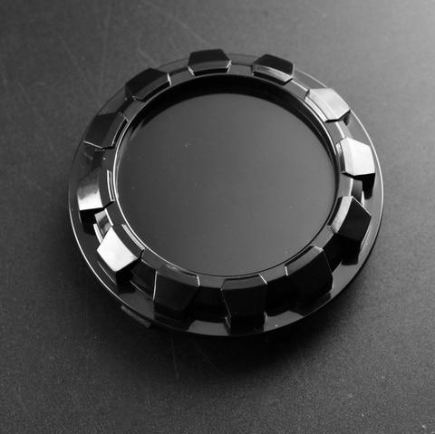 4 pcs prata preto roda centro hub