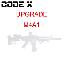 CODE X M4A1 Modell Kit Set gel blaster Upgrade MA41 WBB Magazin Feed Gel Ball Strahlen Spielzeug pistole(China)