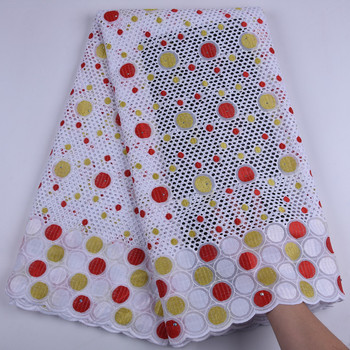 Swiss Voile Lace 100% Cotton Nigerian Lace Fabric African Dry Lace Fabric For Wedding Swiss Voile Lace In Switzerland Y1719