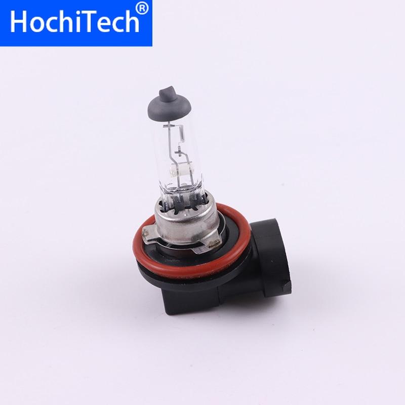 Top Quality H8 Light Halogen Lamp 4500K 12V 35W 3000Lm Xenon Warm White Quartz Glass Car HeadLight Replacement Bulb