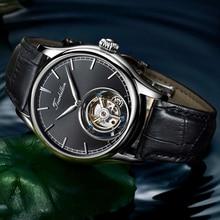 100% Authentic Tourbillon Watch Mechanical Watch Skeleton Clock Men Sapphire Mens Watches Top Brand Luxury Relogio Masculino