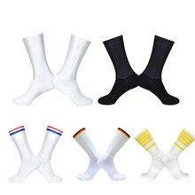 2019 Нескользящие бесшовные носки для езды на велосипеде интеграл высокотехнологичных велосипед Носок компрессионный Велосипедный спорт на...
