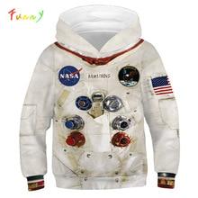 الأولاد هوديس أمسترونغ البلوز الفضاء 2020 ملابس علوية بأكمام طويلة للربيع الأطفال هوديس للمراهقين الصبي الملابس Moleton Infantil
