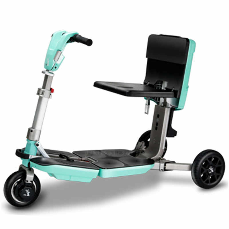 Disability Electric Scooter 3 Wheel Electric Scooter For Elderly Disabled Folding Electric Wheelchair