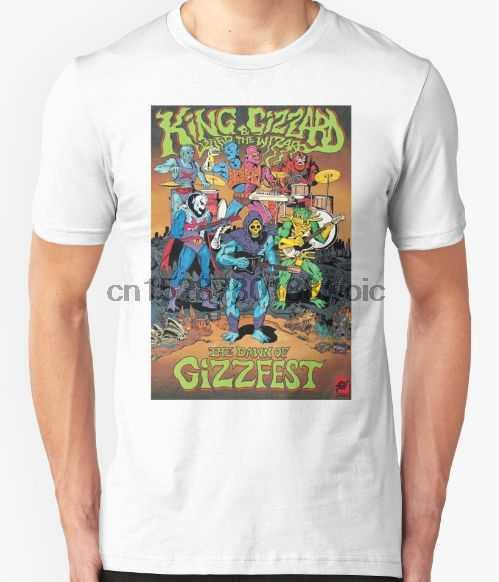 Moela E O Assistente do rei Lagarto Camiseta Rock Psicodélico Oz Gizzfest