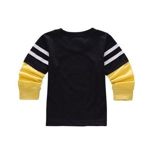 Image 3 - ซูเปอร์ฮีโร่การ์ตูนเสื้อผ้าเด็กเสื้อแขนยาวเด็กเสื้อฝ้ายเสื้อ SLIM FIT TEE Ropa Bebe TShirt Camiseta เสื้อผ้าเด็ก