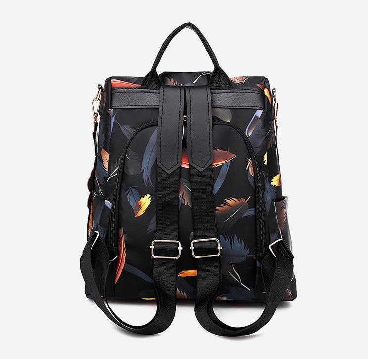 H11c702915e5242e48a03eb8fc8d86443Z Mochilas mujer 2019 New Oxford cloth waterproof student bag Travel casual backpack women outdoor bag mochila feminina CL05