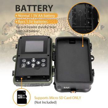 SUNTEKCAM Hunting Camera Trail Camera SMS/MMS/SMTP 2G 20MP 1080P HC810M Photo Traps 0.3s Trigger Time Trap Wildlife 4