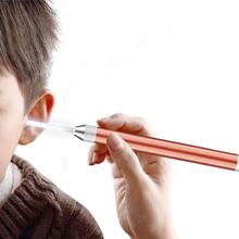 Do czyszczenia uszu usuwanie woskowiny LED Light Earpick usuwanie woskowiny ucho Curette łyżka przybory do pielęgnacji dla dziecka ucho czyste bez baterii tanie tanio ROSENICE CN (pochodzenie) 18cm Aluminum Alloy and Plastic LED earpick LED soft earpick ear cleaner curette ear earwax removal earpick