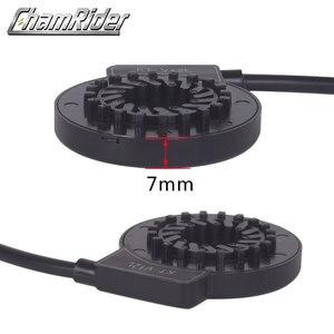 Image 2 - À prova dwaterproof água conector plug pas pedal assist sensor KT V12L 6 ímãs duplo salão sensores 12 sinais