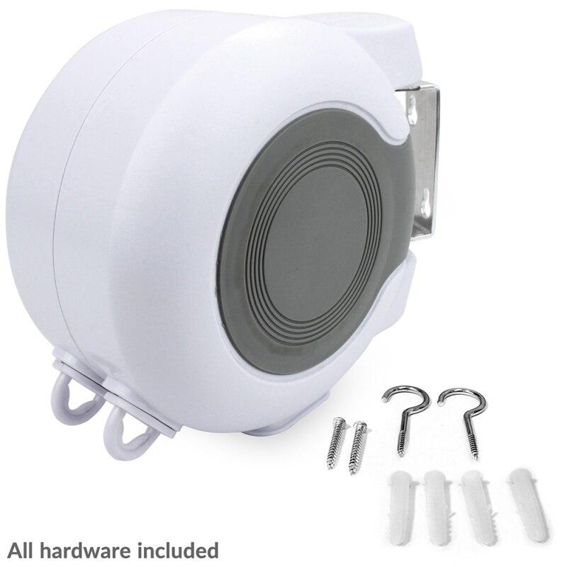 13M Rope Bathroom Clothesline Retractable Double Household Unique Clothesline Portable