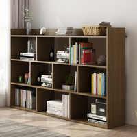 Простая книжная полка для хранения в полу стойка-стиль с книжным футляром небольшой книжный шкаф стол простой современный стеллаж для хран...