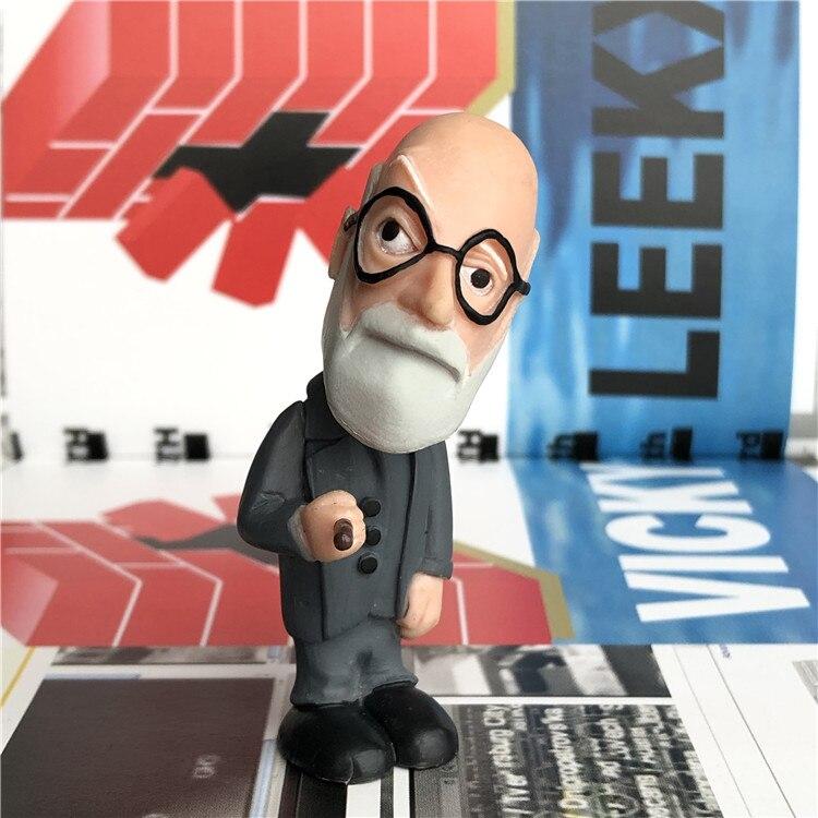 Pvc  Figure Freud Psychologists Model Toy