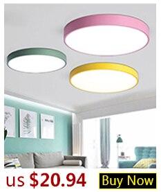 H11c81e0bda12465791cc38ad587edce7O Hot Sale Modern LED Ceiling Lights For Living Room Bedroom Dining Room Luminaires White&Black Ceiling Lamps Fixtures AC110V 220V