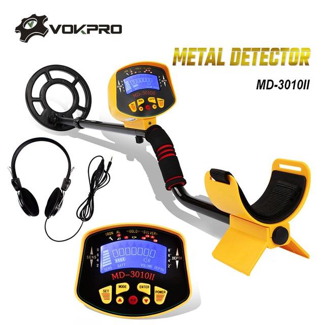 MD 3010II Underground Metal Detector Portable High Sensitivity Gold Pinpointing Gold Digger Finder Treasure Hunter