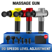 Massage Gun Body Massager Deep Tissue Percussion Muscle Fascia Pain Relief  Exercising Relaxation Therapy Noise Reduction Design
