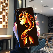 Lion king Hakuna Matata Novelty Fundas Phone Case Cover For iPhone 8 7 6 6S Plus X XS MAX 5 5S SE XR 11 11pro promax Coque Shell muslim islamic gril eyes novelty fundas phone case for iphone 8 7 6 6s plus x xs max 5 5s se xr 11 11pro promax cover
