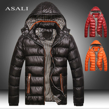 2020 Winter Men's Coats Warm Thick Male Jackets Padded Casual Hooded Parkas Men Overcoats Mens Brand Clothing 5XL