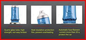 2X автомобильный светильник H7, кристально-синяя Автомобильная галогенная лампа, лампа 55 Вт 100 Вт 12 В, супер белый головной светильник, лампа s, ...