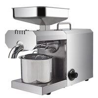 Boa qualidade máquina de extração óleo doméstico automático amendoim coco sésamo imprensa óleo de coco industrial frio quente presser|Prensas de óleo| |  -