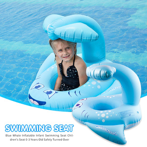 Asiento de natación inflable y seguro para bebé, juguetes de piscina, flotador, anillo de natación, juguetes de agua, Círculo de natación para niños