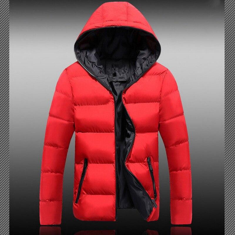 NIBESSER, плюс размер, 5XL, мужская зимняя куртка, повседневная, с капюшоном, толстая, стеганая, на молнии, тонкая, мужская, теплая, термо, пальто, Му...