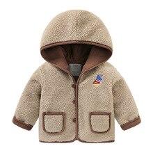 Хлопковая куртка из кашемира и бархата для мальчиков зимняя детская одежда детская Толстая теплая зимняя куртка