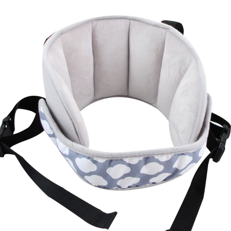 Head Support Car Seat Sleeping Baby Kids Children Supplies Adults Chair Fixed Strap Pad Cushion Adjustable Stuffed Soft Safety S