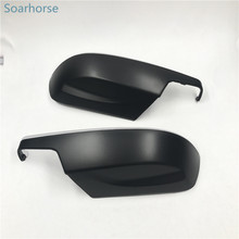 Soarhorse Car side wing mirror cover Rear view mirror shell housings fit For Subaru Forester Legacy Outback XV Impreza Exiga