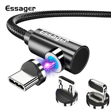 Get more info on the Essager Magnetic Charger Micro USB Cable for iPhone Samsung Note 10 Plus Mobile Phone Fast Charging Magnet USB Type C Wire Cord