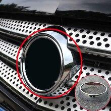 Couverture de Grille centrale ABS chromé argenté, 1 pièce, pour mercedes-benz Vito W447 2014 – 2020, accessoires de voiture