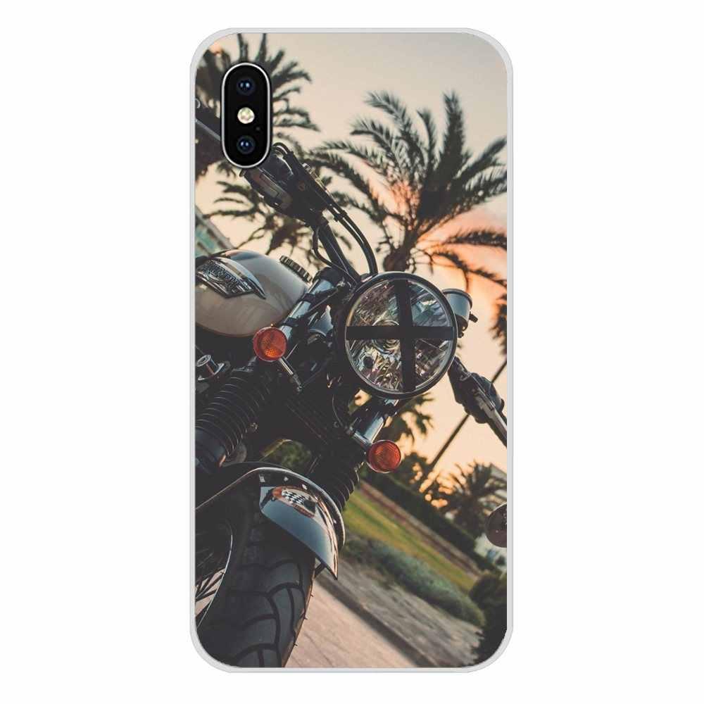 Accessoires coques de téléphone couvre moteur de course de moto rétro pour Huawei Mate Honor 5X6X7 7A 7C 8 9 10 8C 8X20 30 Lite Pro